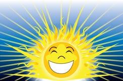 Var lyckligt solsken stock illustrationer