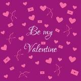 Var min valentinviolet Royaltyfri Bild