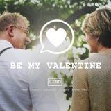 Var mitt Valentine Romance Heart Love Passion begrepp royaltyfria foton