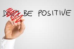 Var positiv Arkivfoto