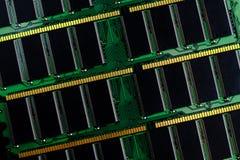 Vara da memória de acesso aleatório do computador ram fotografia de stock