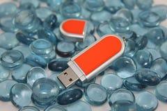 Vara da memória do USB Foto de Stock
