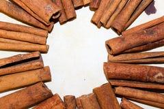 Vara de canela Fotografia de Stock