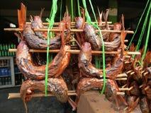 Vara de peixes fritada imagem de stock royalty free