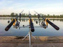 Vara de pesca Imagem de Stock