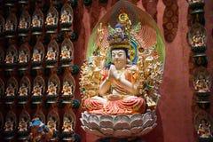 Vara do› de AvalokiteÅ na relíquia do dente da Buda fotografia de stock
