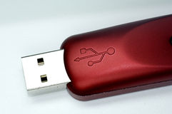 Vara do USB Imagem de Stock Royalty Free