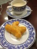 Vara e feijão de soja fritados da massa Foto de Stock Royalty Free