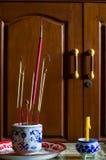 Vara e vela de Joss Fotografia de Stock