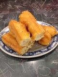 Vara fritada da massa de pão Fotos de Stock
