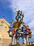 Vara-Kunsthandwerk in Messina Stockbilder