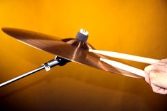 vara lekt cymbal Fotografering för Bildbyråer
