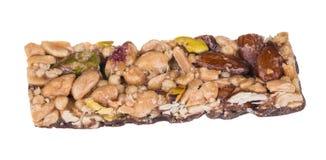 Vara saboroso com amêndoas, pistaches e amendoins foto de stock royalty free