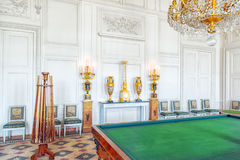 Vara slö salongmusik som spelar i den storslagna Trianon Chateau de V Arkivbilder