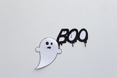 Vara spökskrivare klotter- och ordbu på vit bakgrund Fotografering för Bildbyråer