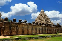 Varadaraja Perumal Temple Royalty Free Stock Photography