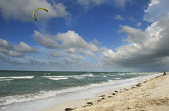 Varadero beach, cuba Royalty Free Stock Photo