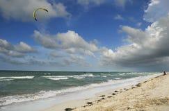 Varadero beach, cuba royalty free stock photo