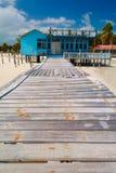 Varadero beach. Varadero, Cuba, February 21, 2005. Beach hut in the beautiful Cuban resort of Varadero Stock Photos