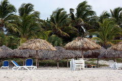 Varadero Beach in Cuba Stock Photo