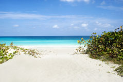 Varadero Beach Scene Royalty Free Stock Photos