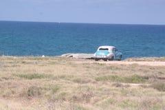 Varadero car's widok fotografia royalty free