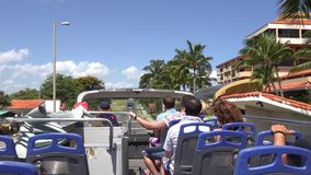 Varadero City Tour, Matanzas,Cuba stock video