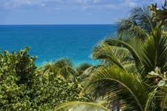 Varadero Cuba and the beach stock photo