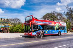 Varadero Beach Tour Royalty Free Stock Image