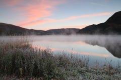 Varadero de la orilla del lago Fotos de archivo libres de regalías