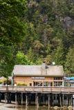 Varadero en la bahía de herradura en Vancouver del oeste Imagenes de archivo