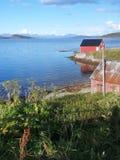 Varadero fuera de Harstad Noruega Imagenes de archivo