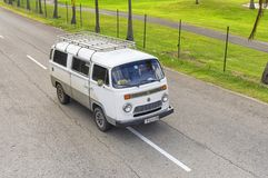 VARADERO KUBA, STYCZEŃ, - 05, 2018: Klasycznego wolkswagena retro samochód Obraz Stock