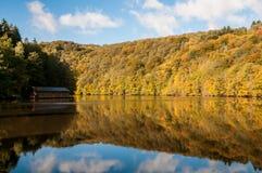 Varadero por el lago Fotografía de archivo libre de regalías