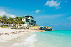 Varadero strand in Cuba stock afbeelding