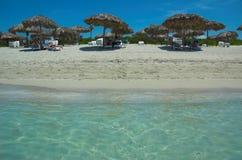 Varadero stranden stock foto
