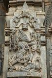 Varaha Avatar Chennakeshava tempel, Kesava eller Vijayanarayana tempel Belur fotografering för bildbyråer