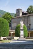 Varallo, Italia: Sacro Monte de Varallo, montaña santa, es un sitio famoso del peregrinaje en Italia Fotografía de archivo libre de regalías