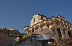 Varallo Sesia, Podgórski, Włochy Obrazy Stock