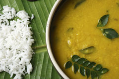 Varan dal or toor dal curry from maharashtra Stock Photo