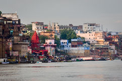 Varanas, i印度 免版税库存图片