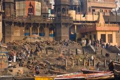 Varanasi, Индия Стоковое Изображение RF