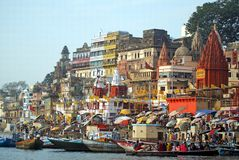 Varanasi Images libres de droits