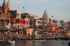 Varanasi 4 Arkivfoto