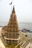 Varanasi (Benares). View of varanasi, Uttar Pradesh, India Royalty Free Stock Photo