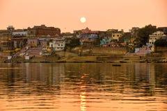 Varanasi (Benares) Uttar Pradesh, la India Imagenes de archivo