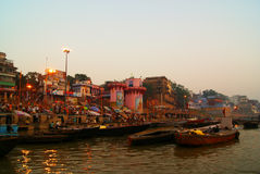 Varanasi du Gange Photos libres de droits