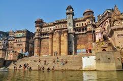 Varanasi et Gange saint Image stock