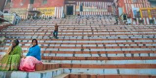 Varanasi Ghat Stock Images