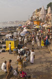 Varanasi Ghats Royalty Free Stock Images